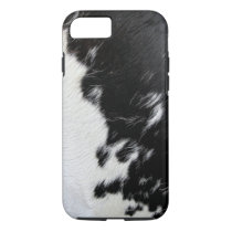 Cool Black and White Cow Hide iPhone 7 Case