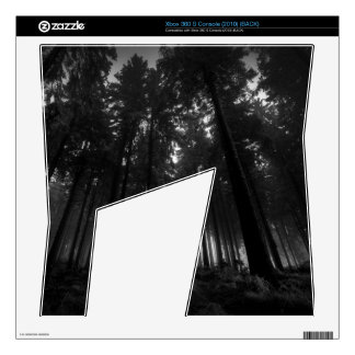 Cool Black and White Forest Fog Silence Gifts Decals For The Xbox 360 S