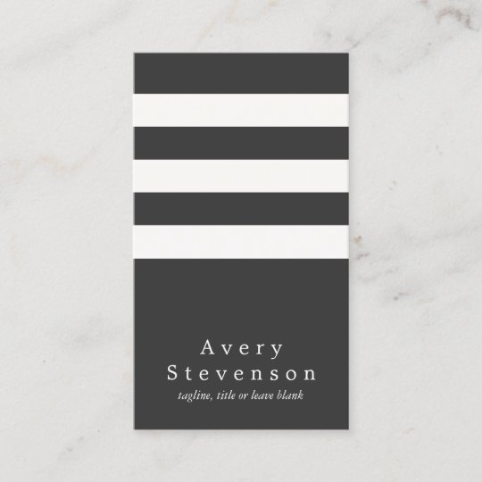 Cool black and white striped modern vertical hip business card cool black and white striped modern vertical hip business card colourmoves