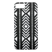 Cool Black and White Tribal Pattern iPhone 7 Case