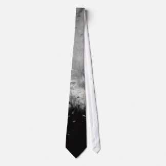 Cool black and white water drops tie