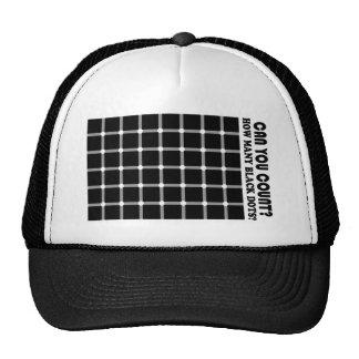 cool black dots Hat