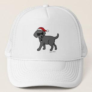 black lab christmas hats caps zazzle