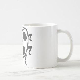 Cool Black Ladybug Tattoo Logo Mugs