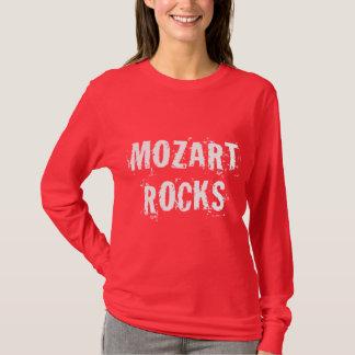 "Cool Black Music Tee ""MOZART ROCKS"""