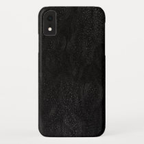 Cool Black Night Stars Outer Space Astronomical iPhone XR Case