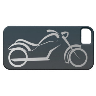 Cool Black Silver Motorcycle Frame iPhone SE/5/5s Case