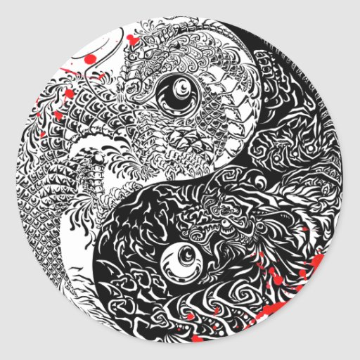 Cool Yin Yang Tattoos
