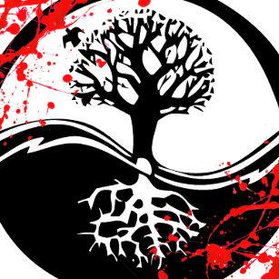 Tree Of Life Tattoo Keychains Lanyards Zazzle