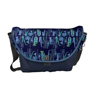Cool Blue Band Instruments Messenger Bag