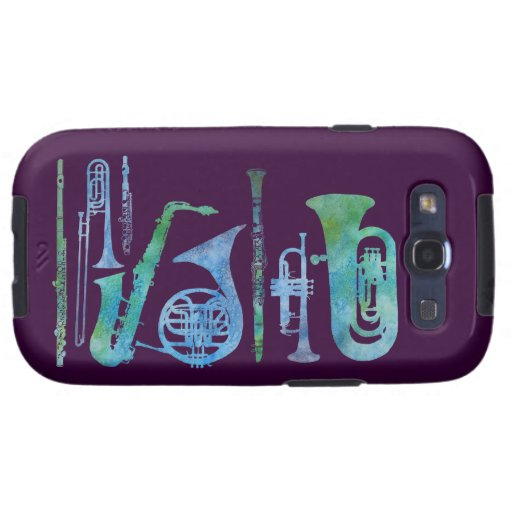 Cooling Case For Samsung Galaxy S3 : Cool blue band samsung galaxy s cases zazzle