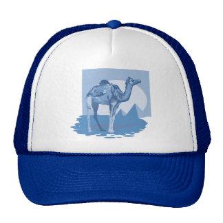 Cool Blue Camel Hats