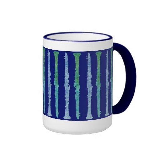 Cool Blue Clarinets Coffee Mugs Zazzle