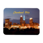 Cool Blue Cleveland Ohio Magnet