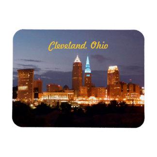Cool Blue Cleveland Ohio Magnet