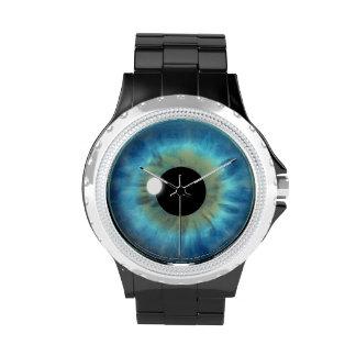 Cool Blue Eye Iris Eyeball Custom Wrist Watch Watches