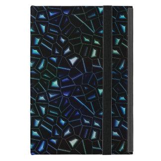 Cool Blue Green Glitter iPad Mini Case