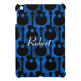 cool blue guitars iPad mini cover
