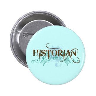 Cool Blue Historian Button