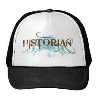 Cool Blue Historian Cap Trucker Hat