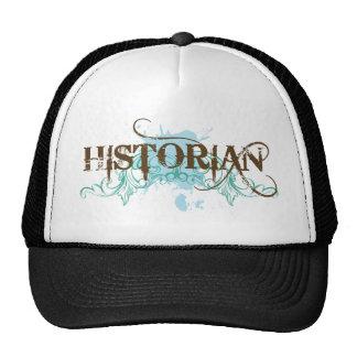 Cool Blue Historian Cap Trucker Hat