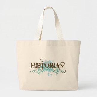 Cool Blue Historian Tote Bag