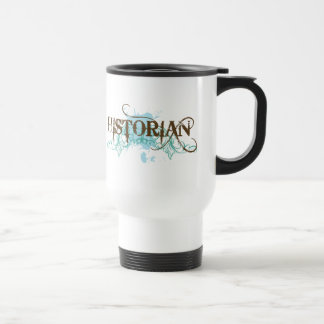 Cool Blue Historian Travel 15 Oz Stainless Steel Travel Mug