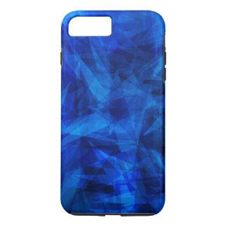 Cool Blue Ice Geometric Shards iPhone 8 Plus/7 Plus Case