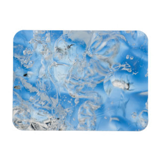 Cool Blue Iceberg Rectangular Photo Magnet