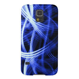 Cool Blue lighting effect design Galaxy S5 Case