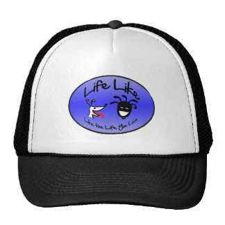 """Cool Blue Logo"" by ""Life Like Stuff"" Trucker Hat"