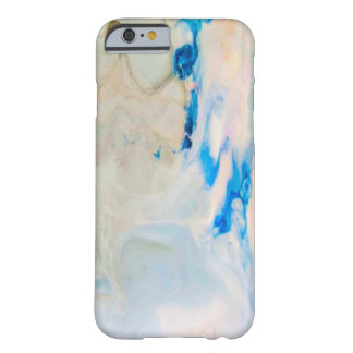 Cool Blue Marble Barely There iPhone 6 Case