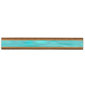 Cool Blue Marble Walnut Ruler