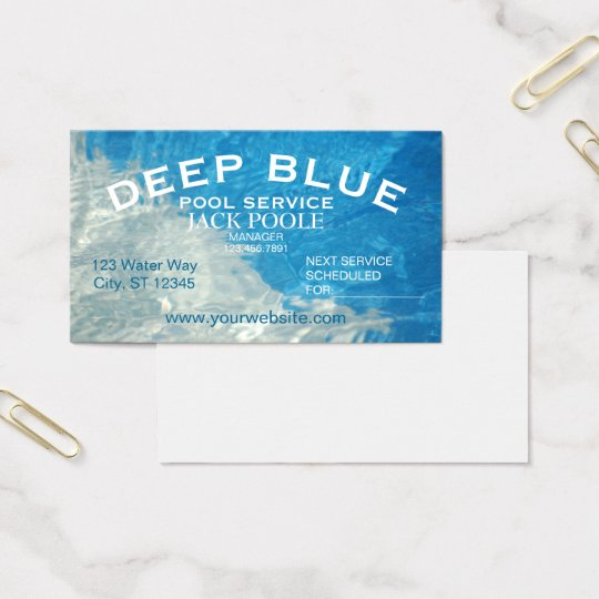 Cool blue pool service business card zazzle cool blue pool service business card colourmoves Choice Image