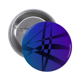 Cool Blue Purple Black Abstract Pin