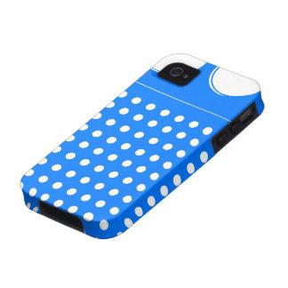 Cool Blue Radio iPhone 4 Cases