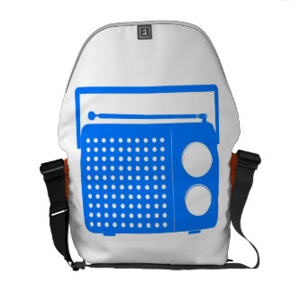 Cool Blue Radio Courier Bags
