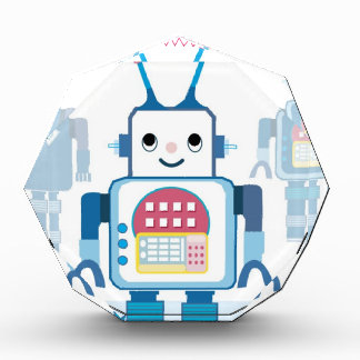 Cool Blue Robot Gifts Novelties Award