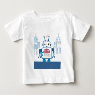 Cool Blue Robot Gifts Novelties T Shirt