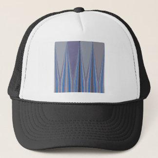 Cool Blue Seamless Design Trucker Hat