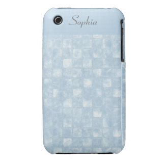 Cool Blue Squares iPhone 3G 3GS Case iPhone 3 Case