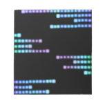 Cool Blue Squares Scratch Pads