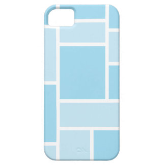 Cool Blue Stained Glass iPhone 5 Case