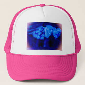 cool blue violet pink hearts hat variety of colors