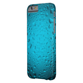 Cool blue water drops iPhone 6 case