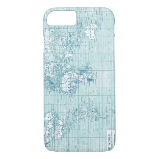 Cool Blue World - collection iPhone 7 Case