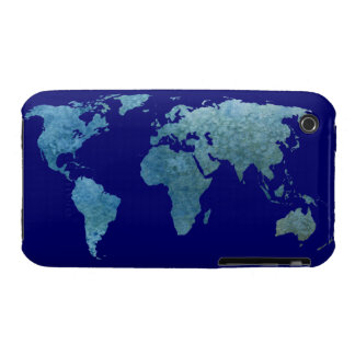 Cool Blue World iPhone 3 Case