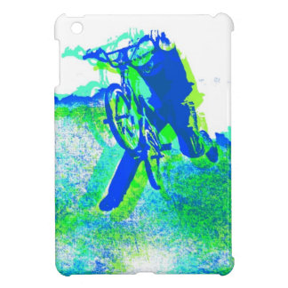 Cool BMX Freestyle Bicycle Stunt Pop Art Case For The iPad Mini