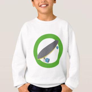Cool Board Design for Skateboarders Sweatshirt