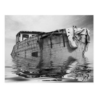 Cool Boat Postcard